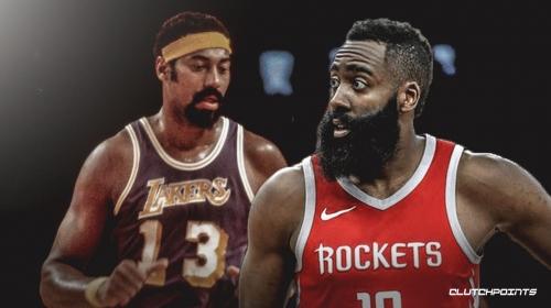 Rockets star James Harden ties Wilt Chamberlain for second-longest streak of 30+ point games