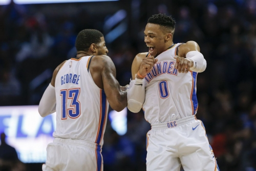 What's causing OKC's offensive explosion? Hot shooting, but also smart shooting