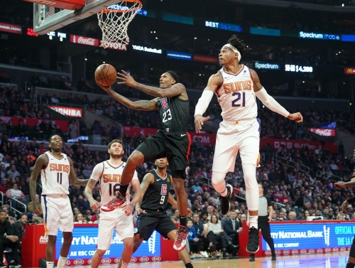 Clippers, Lou Williams race past Suns for easy win