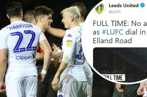 The savage tweet Leeds United sent out after their 2-1 win over Swansea City