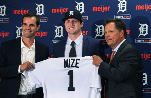 Detroit Tigers' talent level hits 12-year high as rebuild continues