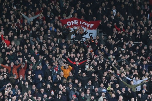 Where Manchester United fans rank in 'Premier League loyalty table'