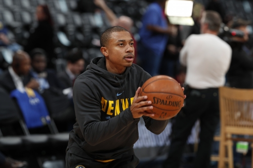 "Isaiah Thomas dishes on his hip, his rhythm, and ""amazing"" Nuggets fans"