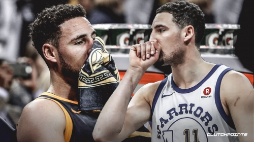 Klay Thompson told ESPN broadcasters that he wants to finish his career with Warriors