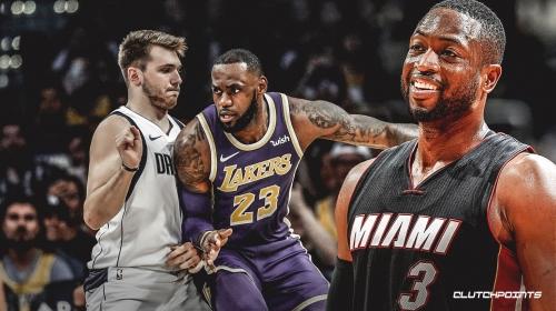 Dwyane Wade compares Luka Doncic to LeBron James