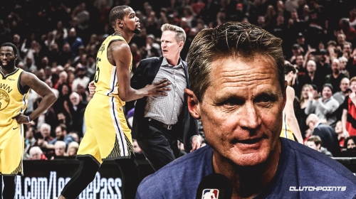 Video: Warriors coach Steve Kerr trolls reporters, addresses outburst vs. Blazers
