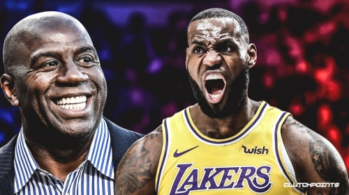 Lakers' Magic Johnson thinks it would be 'fantastic' if LeBron James becomes an NBA owner