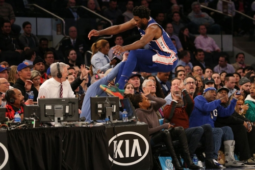 """76ers 126, Knicks 111: """"A long, unexpected journey, but the destination was never in doubt"""""""