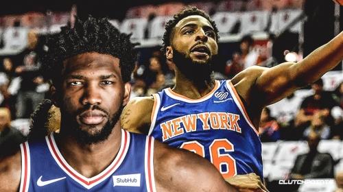 Sixers' Joel Embiid praises Knicks' Mitchell Robinson for upside
