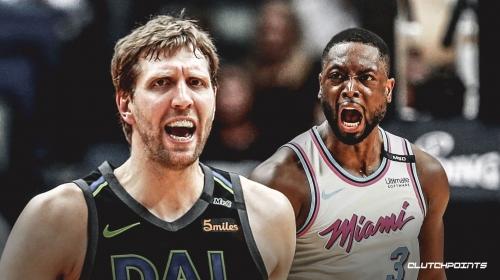 Mavs forward Dirk Nowitzki speaks out on years of competing against Heat guard Dwyane Wade