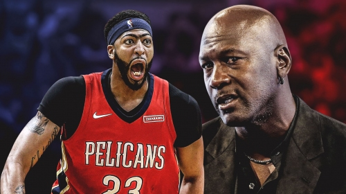 Pelicans' Anthony Davis looking forward to finally talking with Michael Jordan