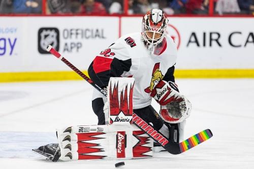 Anders Nilsson Providing Much-Needed Help in Ottawa Senators Goal