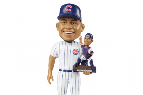 The Bobblehead Museum has a new Willson Contreras bobblehead and it's really cool