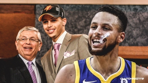 Stephen Curry recalls being unsure of his future before declaring for 2009 NBA Draft