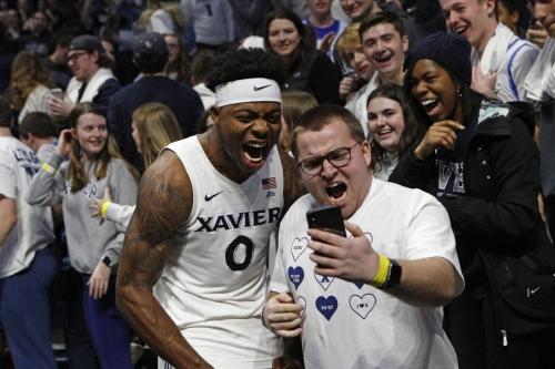 Xavier wins, world seems better