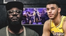 Lonzo Ball loses to T-Pain in rap battle on 'Drop the Mic'