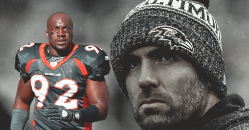 Former Broncos star Elvis Dumervil calls Joe Flacco trade a 'big gamble'