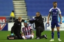 Tom Edwards injury update after blow to head at Wigan Athletic