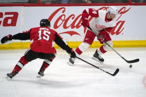 Red Wings vs Senators Game Day Updates