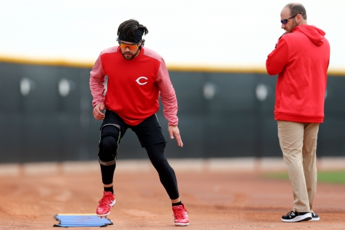 Cincinnati Reds' Curt Casali had surgery in October, expects to be ready for Opening Day
