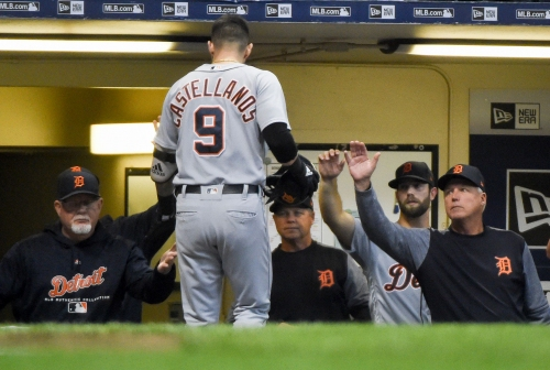 Detroit Tigers' Ron Gardenhire hopes Nicholas Castellanos stays on team