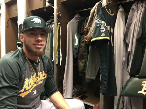 The wild journey back to the big leagues for new A's pitcher