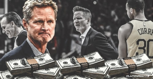 Warriors coach Steve Kerr fined $25,000 for verbally abusing official