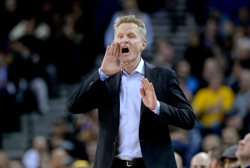 NBA fines Steve Kerr $25,000 for 'verbally and confronting a game official'