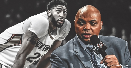 Video: Charles Barkley says Anthony Davis handled Pelicans situation wrong, reminds him agent works for player