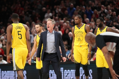 Steve Kerr fined $25K for Wednesday's tirade