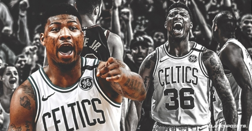 Marcus Smart reiterates his love for Celtics after back-to-back wins