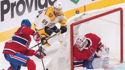 NHL Live Tracker: Canadiens vs. Predators
