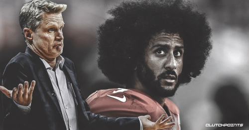 Warriors' Steve Kerr shows support for David Stern's claim that Colin Kaepernick would still have a job if he played basketball
