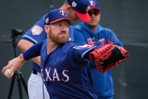 Zach McAllister is the beta test, and positive results featuring Rangers' new tech could help revitalize pitching staff