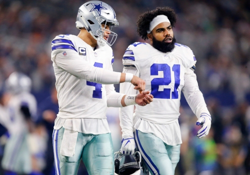 Who will sign an extension with the Cowboys first: Dak Prescott or Ezekiel Elliott?