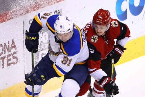 Blues at Coyotes GameDay Thread: Eight ain't enough