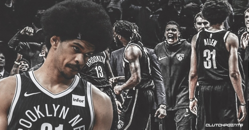 Jarrett Allen says Nets are eyeing a top four seed in the playoffs