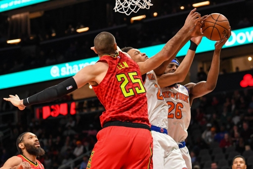 Hawks spectacularly flop in 106-91 loss to Knicks