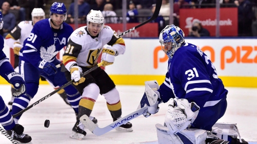 NHL Live Tracker: Maple Leafs vs. Golden Knights