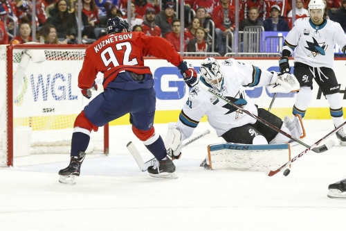 Capitals at Sharks: Lines, gamethread, and where to watch