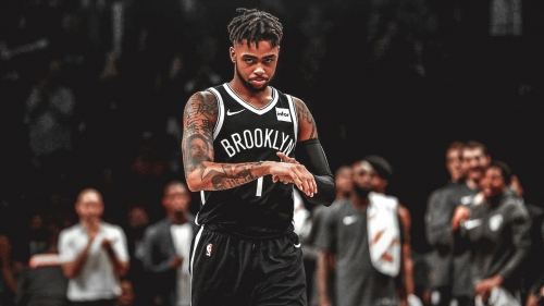 Nets' D'Angelo Russell reached out to LeBron James for advice last summer