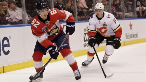 Vincent Trocheck's shootout goal lifts Panthers over Flames