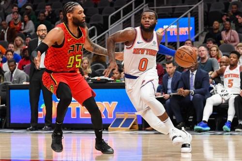 Knicks 106, Hawks 91: Scenes From Snapping 'The Streak'
