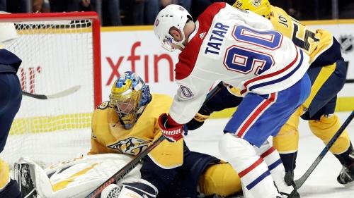 Pekka Rinne makes 34 saves, Predators beat Canadiens