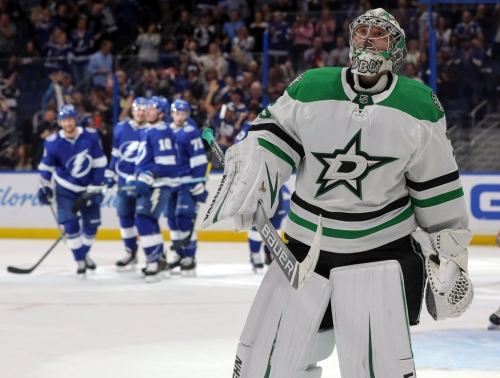 'We will get better from this': Stars suffer worst loss of the season in blowout vs. Lightning