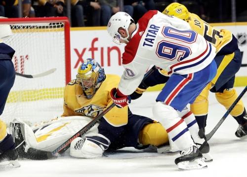 Rinne holds off Habs as Predators snap 3-game slide