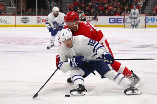 Toronto Maple Leafs Andreas Johnsson Out With Lower-Body Injury
