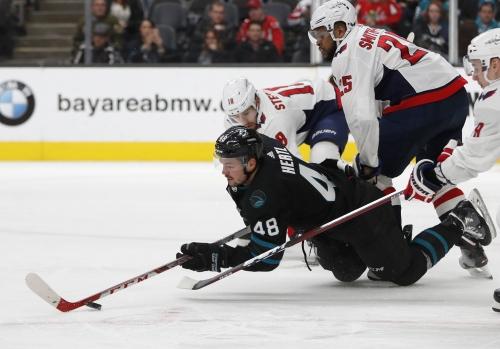 Caps end Sharks six-game winning streak