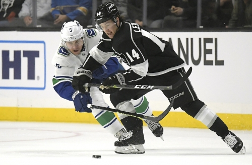 Kings earn a point but fall to Canucks in a shootout