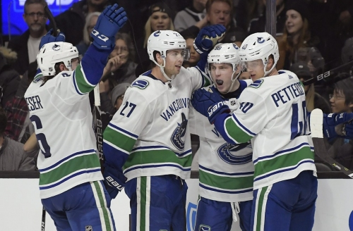 Canucks' Gaudette shines as injuries present opportunity